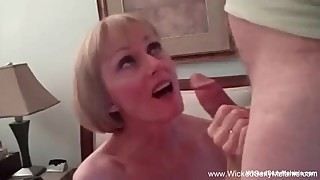 Granny Nympho Sex Threesome