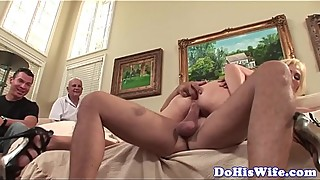 Busty wife anally fucked in various poses