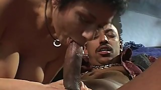Interracial Huge Tits Swinger