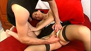Housewife Patricia cheats on her husband