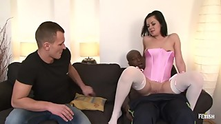 Cuckold interracial ATP / Who is this girl?