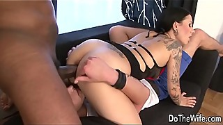 Hot wife Lulu Jung takes huge black cock in her ass