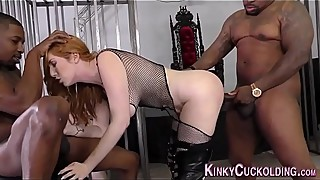 Lauren Phillips Interracial Anal Gangbang - Cuckold Sessions