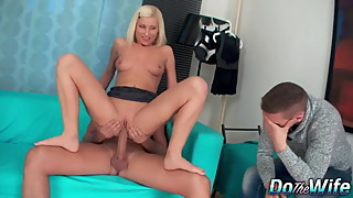 Blonde Wife Sodomized